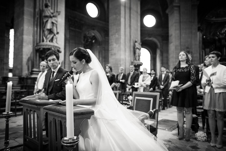 Mariage église Saint-Sulpice