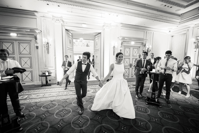 Arrivée bal mariage Shangri-La