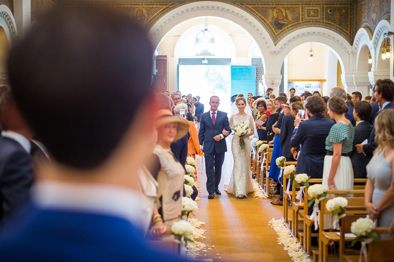 Entrée de la mariée Bordeaux