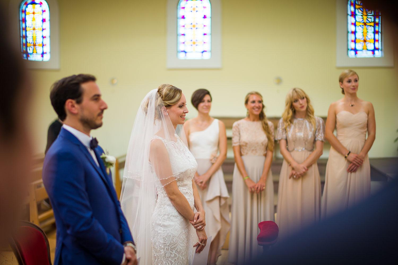 Mariée dans église