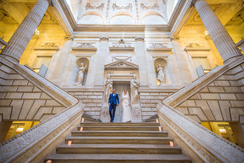 Escalier d'honneur grand théâtre
