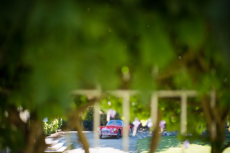 MG voiture marié