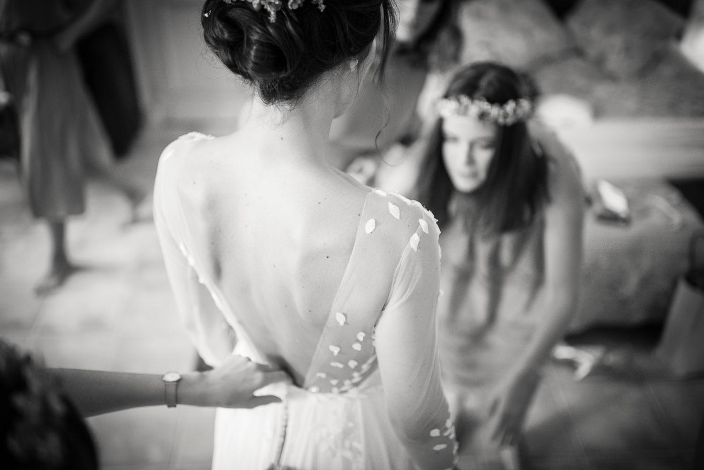 dentelle robe mariée