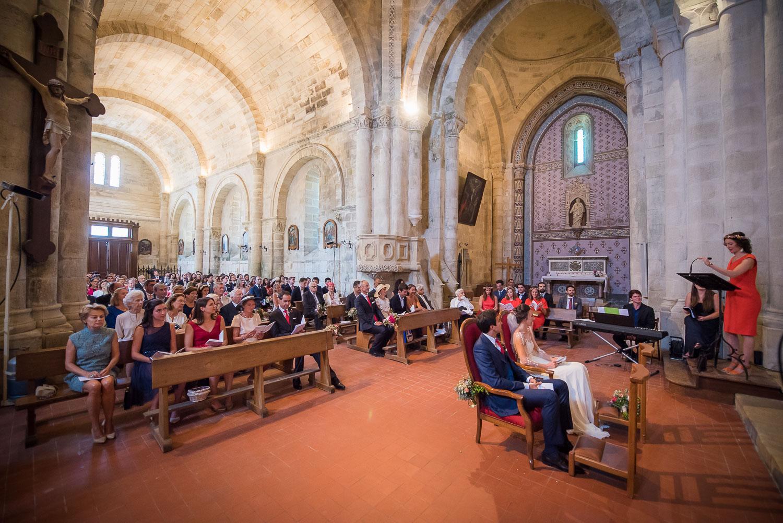 Mariage église Saint-Emilion