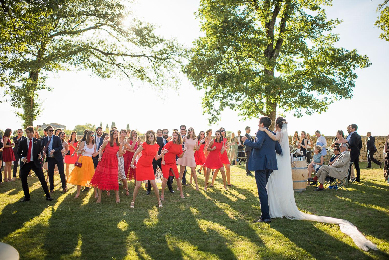 Flash mob mariage