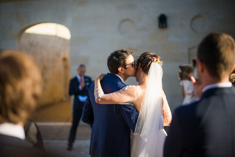 Moment volé mariage